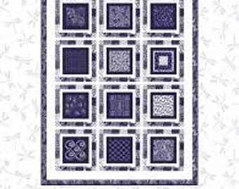 Avalon Quilt Kit.  Featuring Blank Quilting Fabrics.