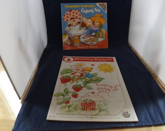 Strawberry Shortcake Book and Puzzle