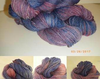 Price reduced! NSW Hand Dyed Merino/Bamboo - 'Wild Berries'