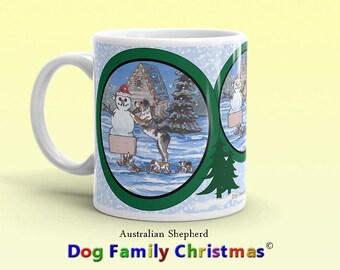 Dog Family Christmas ©