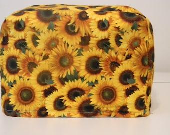 Toaster Cover - 2 slice - Appliance Cover - Sunflower Allover