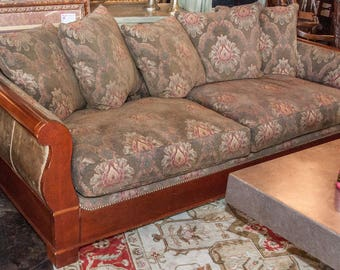 """Vintage Wood & Cloth 86""""Wide Living Room Sofa Including Pillows Shown"""