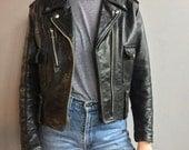 Veste de Moto Harley Davidson en cuir noir
