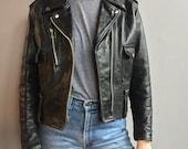 Harley Davidson Black Leather Moto Jacket
