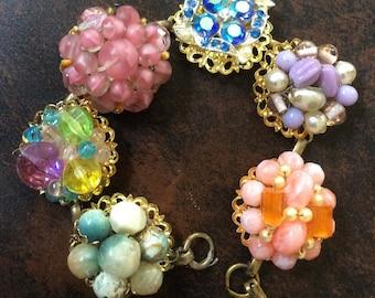 Spring Vintage Earring Bracelet