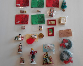 Christmas Doll House Miniatures