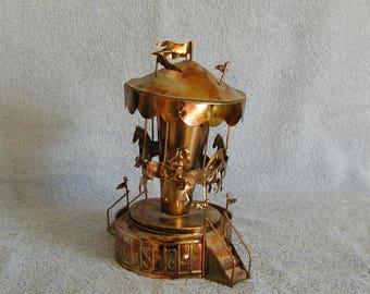 Music Box - Metal Art Carousel - Carousel Waltz