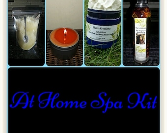 At Home Spa Massage Package Kit
