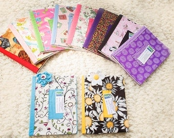 Journals (Fabric Cover for composition notebook)