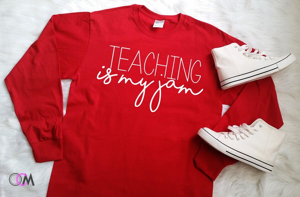 123 teach me tank game - Teaching Is My Jam Shirt Teaching Teacher Quote Shirt Teacher Saying Shirt School Shirts Teacher Tank Top Teacher Appreciation Gift