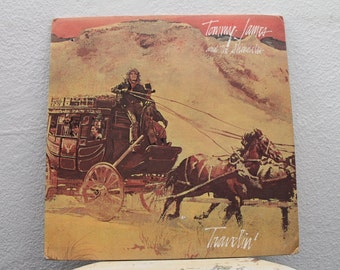 """Tommy James and The Shondells - """"Travelin'"""" vinyl record"""