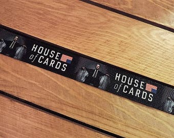 House of Cards ribbon - 5 yards