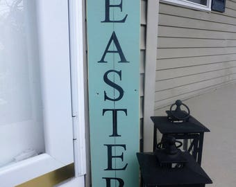 Large Happy Easter sign