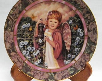"""Bradford Exchange Garden of Innocence Collection """"PATIENCE"""" plate #10175A"""