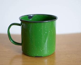 Enamel Camper Mug
