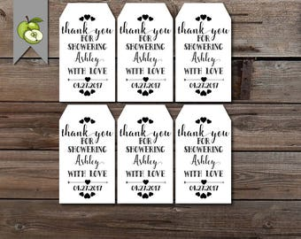 Bridal shower favor tag, baby shower, favour tag, bachelorette, hen party, favour tag, Custom wedding tag, custom tags, Tags,PRINTABLE AD1