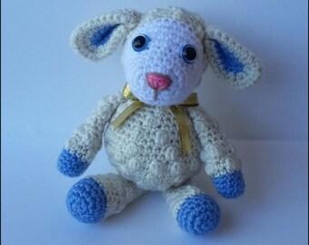Crochet Pattern - Leroy the Lamb