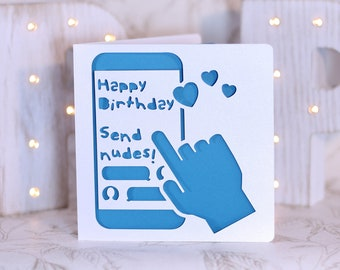 grindr  etsy, Birthday card
