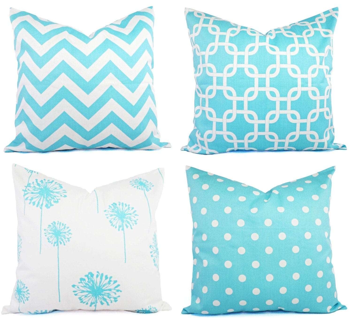 teal decorative throw pillow cover teal and white pillow. Black Bedroom Furniture Sets. Home Design Ideas
