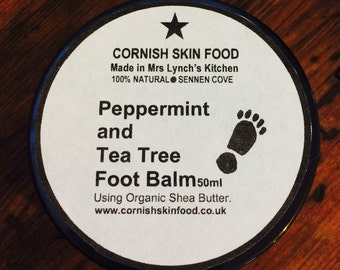 Peppermint and Tea Tree Foot Balm 50ml