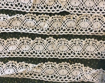 Vintage crocheted edging