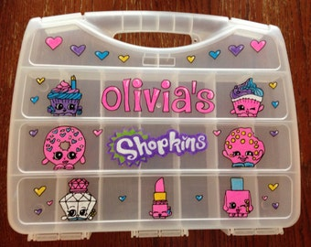 Hand-painted Personalized Shopkins Case
