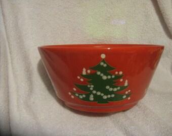 "WAECHTERSBACH CHRISTMAS TREE 9"" Serving Bowl Germany"