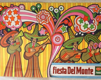 CINCO DE MAYO!  Original 1969 Del Monte Fiesta Poster