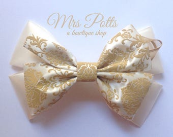 mrs potts hair bow