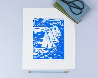 Ette Sailing Race Screenprint