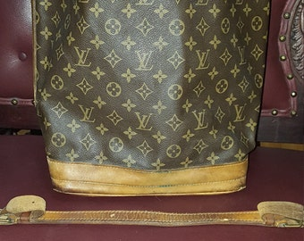1980s Authentic Louis Vuitton Rescue Bag 13x16 Sold As Is  Needs Some TLC