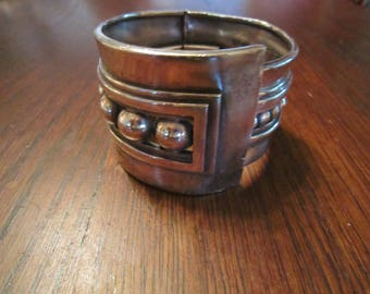 Margot de Taxco Sterling Bracelet