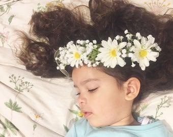 Daisies Flower Crown