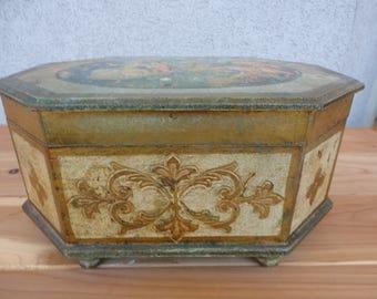 Florentine Jewelry Box
