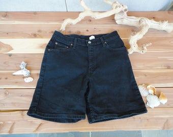 Black Levis Shorts