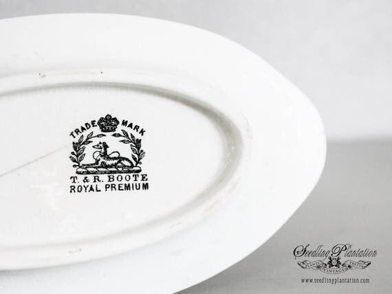 Vintage White Ironstone Bowl-White Bowls, Ironstone Serving Bowl, Whiteware, White Dishes-French Country Shabby Chic Farmhouse
