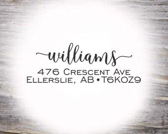 Custom Address Stamp, Self Ink Return Address Stamp, Personalized Address Stamp, Self Inking Custom Address Stamp