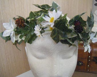 flower crown,headdress for festival/fancy dress