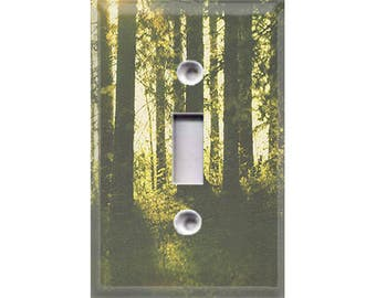 Country Rustic - Forrest Sun Light Switch Cover