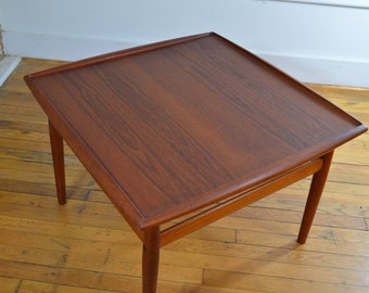 Grete Jalk for France & Sons Teak Coffee Table