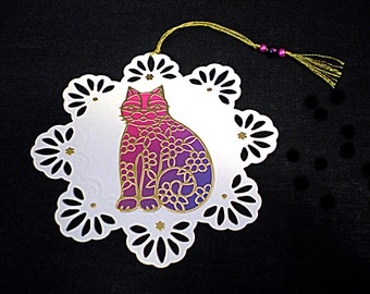 "bookmark ""degraded purple cat"""