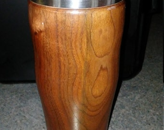 Black Walnut Thermal Mug