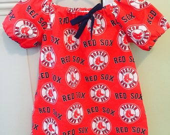 Red Sox Peasant top