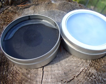 Black Drawing Salve~with plantain, frankincense, lavender~ Amish first aid, fight infections/splinters, wart/mole/skin tag remover