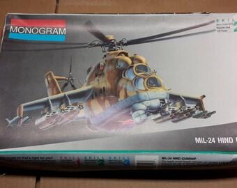 Monogram MiL-24 Gunship model