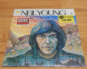 Sealed Neil young Vinyl Record LP  Still in Original Shrink rock n roll  wow unopened unplayed