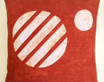 Mars Pillow // Rust