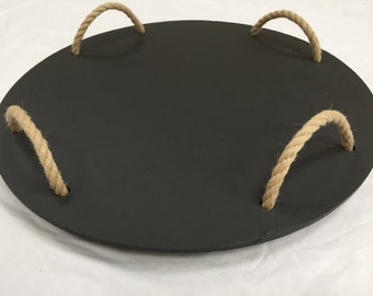 "Welsh slate serving platter - 18"""