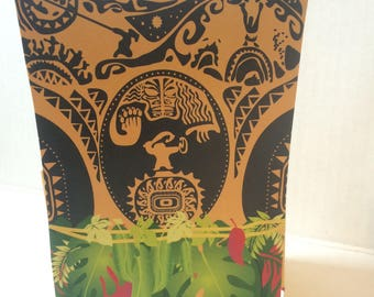 Polynesian Character Treat Boxes