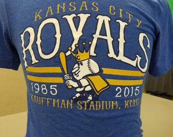 Unisex Kansas City Royals Vintage TShirt